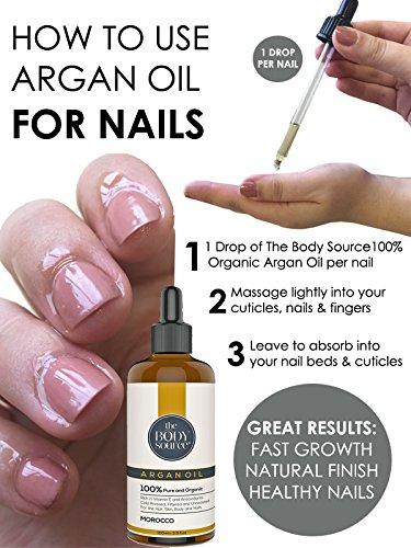 Cuidar las uñas con aceite de argán
