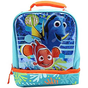 4e7a2d30e667 Finding Nemo Drop Bottom Lunch Bag