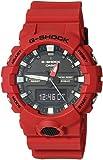 G-Shock Men's GA-800 Red One Size