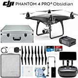 DJI Phantom 4 Pro Plus Obsidian Quadcopter Drone Travelers Bundle