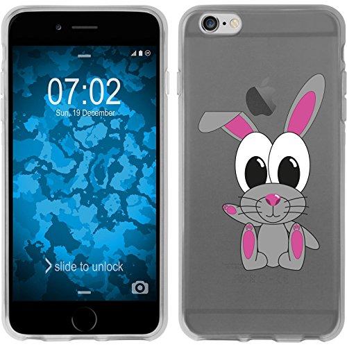 PhoneNatic Apple iPhone 6 Plus / 6s Plus Coque en Silicone Cutiemals Motif 4 Case iPhone 6 Plus / 6s Plus + films de protection