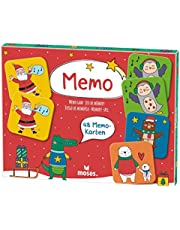 moses. Memo Christmas I The Classic Game for Children from 3 Years I with 24 Different Designs