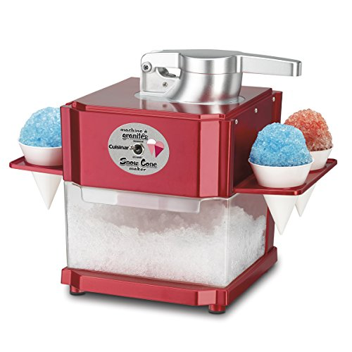 Cuisinart - Snow Cone Maker (Red)