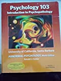 Search : Psychology 103 University of California, Santa Barbara