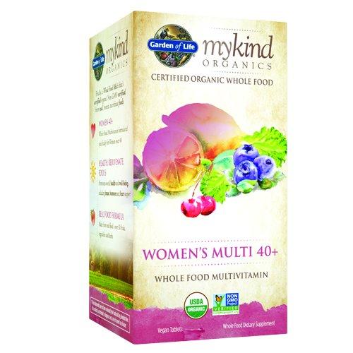 Garden of Life mykind multi 40+, 120 Tablet organique de Organics femmes