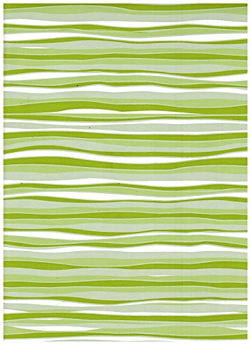 Lime Pattern Paper - Con-Tact Brand Creative Covering Liner for Shelf, Drawer and Arts and Craft Projects - Wave Lime - 18''x9'
