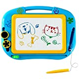 LingsFire Magnetic Drawing Board Kids Doodle Writing Board Travel Doodle Sketch Pad Drawing Educational Toy for Kids Boys Girls
