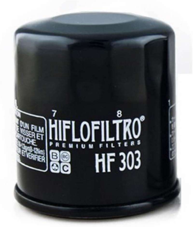 Hiflofiltro 18770 Filtro Aceite Moto Hf303: Amazon.es: Coche y moto