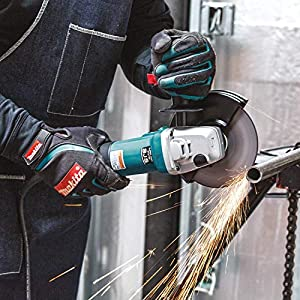 Makita 9566CV 6-Inch Variable Speed Cut-Off/Angle Grinder (Color: Teal)