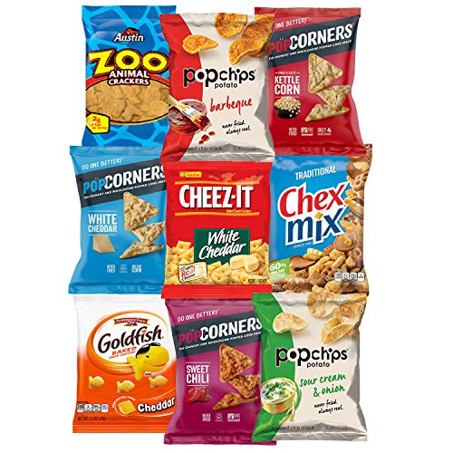 Snack Chest Snacks Care Package Gift Assortment Sampler Mixed Bars, Cookies, Chips, Candy for Office, Military, College, Meetings, Schools, Friends & Family (40 Count) by Snack Chest (Image #3)