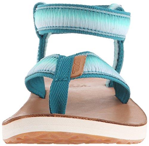 Teva - Sandalias de vestir para mujer, color Turquesa, talla