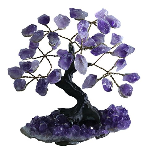 CARLIN Gifts Amethyst Gemstone Tree - S - 3