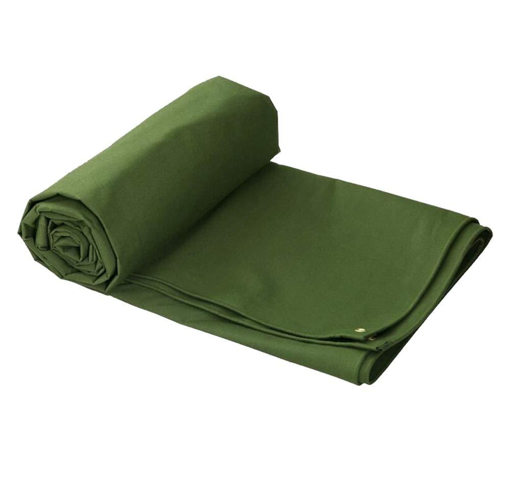 LQq-BÂches Grand tissu imperméable imperméable à l'eau de double de couverture de camion de double face imperméable de bÂche de PVC - épaisseur de 720g   m² 0.8mm pour le camping en plein air  5X3M