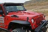 DV8 Jeep Wrangler Replacement Hood Aggressive