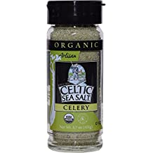 Organic Celery Seasoned Celtic Sea Salt Blend, 3.7 Oz