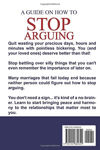 Amazon com: A guide on how to STOP ARGUING: Protect quality