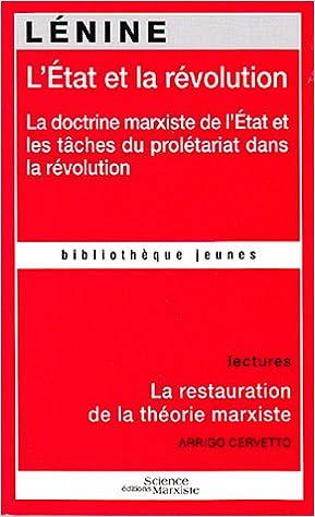 Lire L'Etat et la révolution pdf ebook