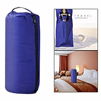 Cisixin 210 x 115 cm Tela de Saco de Dormir, para Camping Senderismo Excursionismo, Azul: Amazon.es: Electrónica