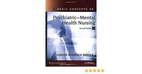 Basic Concepts Of Psychiatric Mental Health Nursing Point