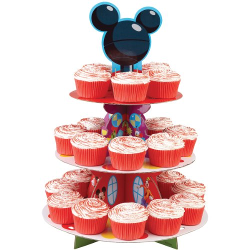 Disney Mickey Mouse Clubhouse Cupcake Stand (Mickey Mouse Baby Shower Ideas)
