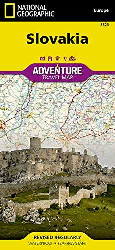 Slovakia (National Geographic Adventure Map)