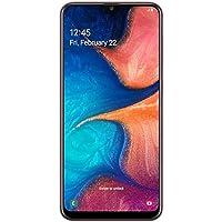 "Samsung Galaxy A20 32GB A205G/DS 6.4"" HD+ 4,000mAh Battery LTE Factory Unlocked GSM Smartphone (International Version, No Warranty) (Red)"