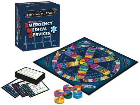 TRIVIAL PURSUIT? Emergency Medical Services Edition by Trival Pursuit: Amazon.es: Juguetes y juegos