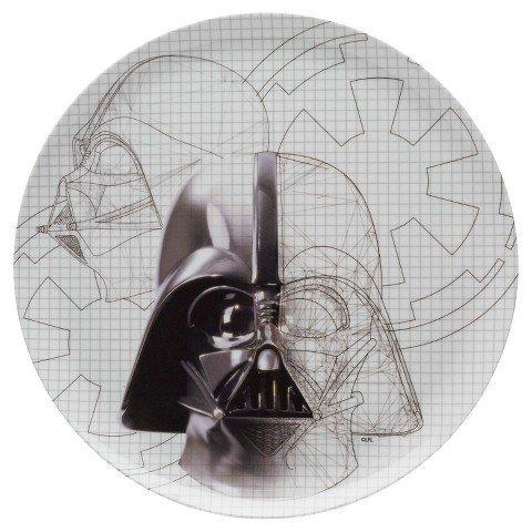 Star Wars Darth Vader Sketch 10in Dinner Plate TRG ()