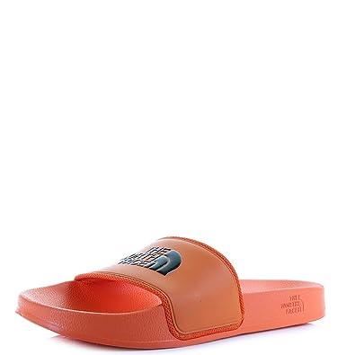 a160c6be7080 Mens North Face Base Camp Slide 2 Urban Explore Bright Orange Slider Sandal  Size 7