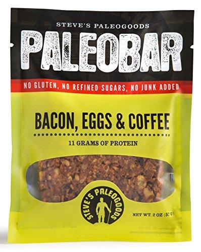 Steves PaleoGoods, PaleoBar Bacon Eggs & Coffee, 2 oz (Pack of 3)