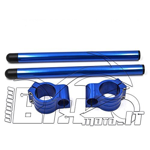 KIT SEMIMANUBRI 50 MM BLU ERGAL YAMAHA R1 2005 2006 2007 2008 2009 2010 2011 bix moto