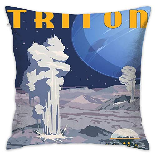 - VariClouding Explore Cryovolcanoes On Triton Throw Pillow Cover Personality Cushion Cover Home Decorative Custom Pillow Covers Pillowslip Creative Cushion Pillow Cases with Zipper, 18