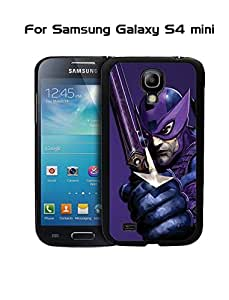 Hawkeye Marvel Comics Galaxy S4 Mini Funda Case {Drop Proof} +{Impact Resistant} Cover Unique Hard Shell Protector Back for Samsung Galaxy S4 Mini