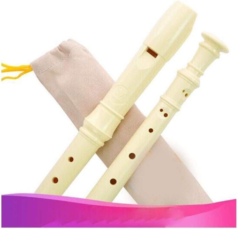 Clarinete HYCSP, clarinete profesional para principiantes, 8 agujeros, flauta de entrada agudos, flauta blanca/negra, blanco: Amazon.es: Instrumentos musicales