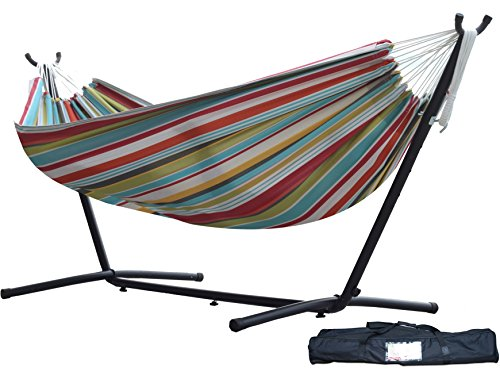 Vivere C9POLY-10 Combo - Ciao Hammock with Stand, 9 ft.