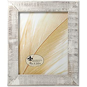 Amazon Lawrence Frames 734080 8x10 Distressed Gray Wood With
