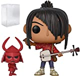 Funko Pop Movies: Kubo and The Two Strings - Kubo & Little Hanzo Vinyl Figure (Includes Pop Box Protector Case)