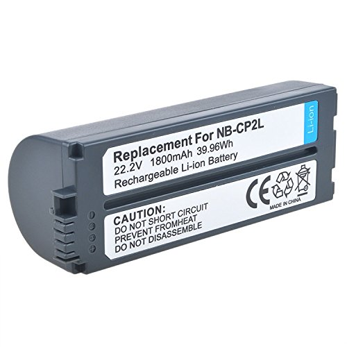PK Power Rechargeable Battery for Canon NB-CP1L NB-CP2L Selphy Photo Printer