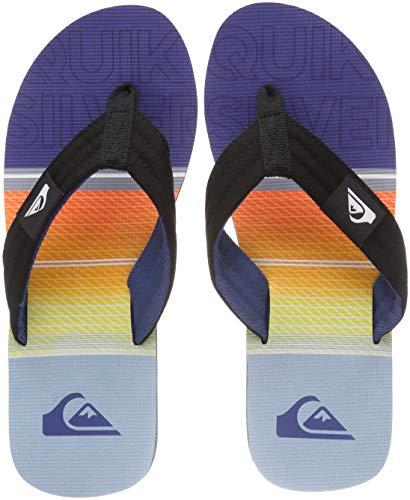 Chaussures Combo Plage Blue Orange et Molokai Quiksilver Black Layback Xknb Piscine Homme de Multicolore qanE7