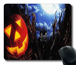 "Haunted Custom Rectangle Rubber Mouse Pad Oblong Gaming Mousepad in 220mm*180mm*3mm (9""*7"") -100827"