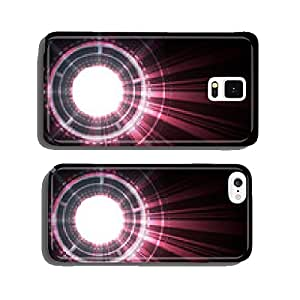 Abstract digital background. Vector illustration cell phone cover case iPhone6
