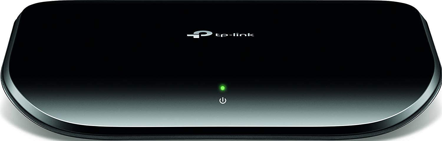 TP-LINK TL-SG1005D 10/100/1000Mbps 5-Port Gigabit Desktop Switch, 10Gbps Capacity(Renewed).
