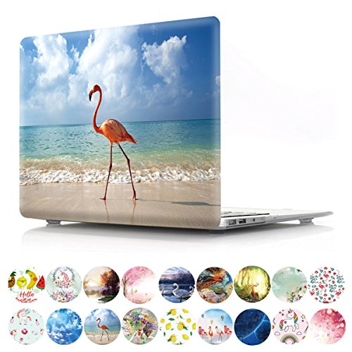 New 2010 Colour - PapyHall New Color Painting Plastic Pattern Hard Case for Old Macbook Pro 15