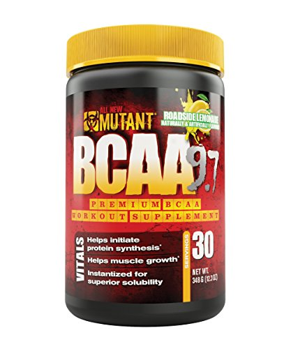 Mutant Bcaa 9.7 Supplement, Roadside Lemonade, 0.76 Pound