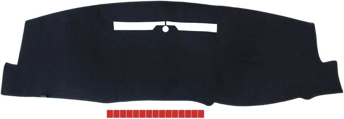 NewYall Black Dashboard Cover Dash Mat Pad Dashmat