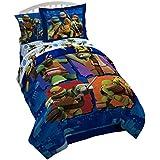 Nickelodeon Teenage Mutant Ninja Turtles 'City Limits' Twin Reversible Comforter with Bonus Sham