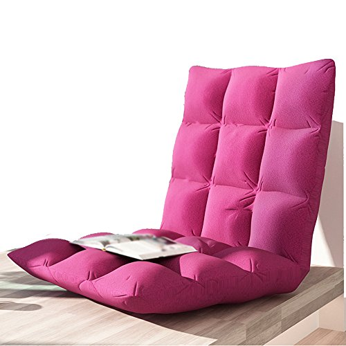 Leisure furniture lazy sofa / cushion single folding chair, bed back chair, floating window chair, lazy sofa chair(This product only include sofa) ( Color : Red , Size : 784010CM ) by Xin-Sofa (Image #2)