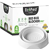 EcoPest Labs | BED BUG BLOCKER (PRO) - 4 PACK Detect early, treat quickly!  ▶ The Bed Bug Blocker (Pro) insect killer and detector is purposely designed to detect and protect you and your living space against unwanted pests, such as Cimex lec...