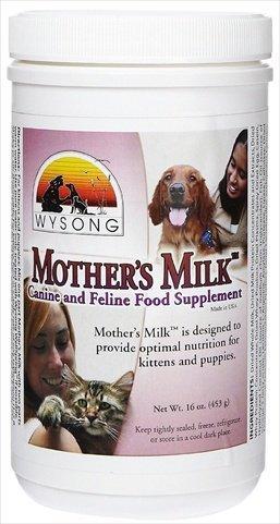 wysong Madres Leche para perros/gatos Alimentos Suplemento Botella de - 16 oz..: Amazon.es: Productos para mascotas