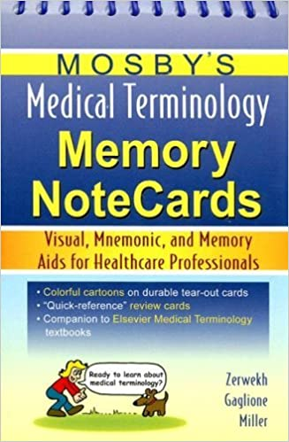 Download By JoAnn Zerwekh - Mosby's Medical Terminology Memory NoteCards PDF